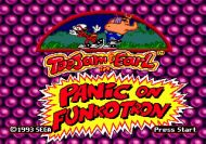 ToeJam & Earl in Panic on Funkotron Files