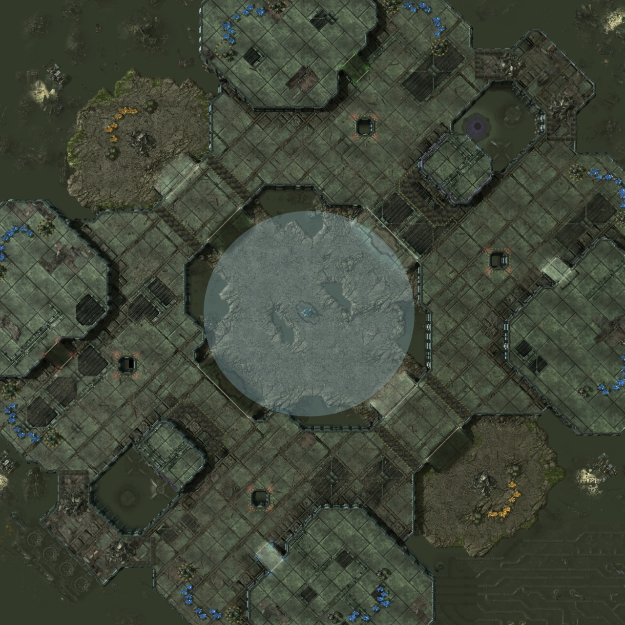 Blizzard adds and subtracts multiplayer ladder maps in new StarCraft