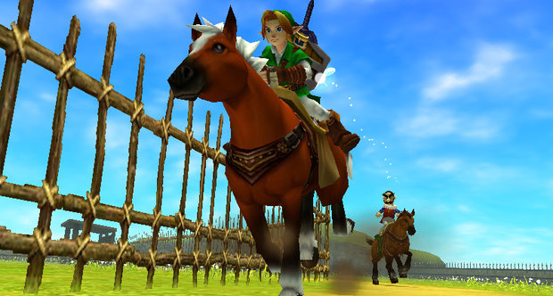 The Legend of Zelda: Ocarina of Time 3D GDC 2011 screenshots