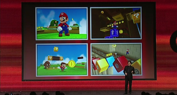 Super Mario 3DS GDC 2011 Nintendo