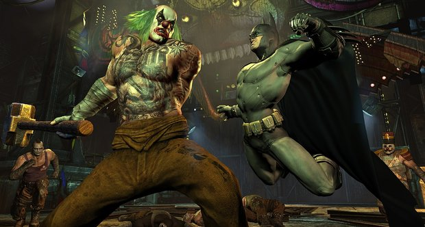 Batman: Arkham City release date screenshots