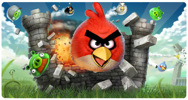 Angry Birds downloaded 350 million times