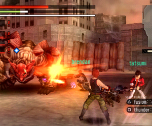 God Eater Burst Screenshots