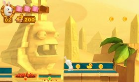 Rabbids Travel in Time 3D Screenshot from Shacknews