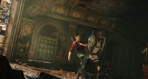 Uncharted 3 multiplayer screens