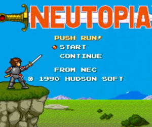 Neutopia Screenshots