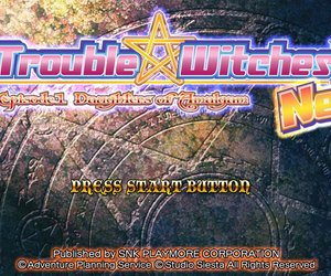 Trouble Witches Neo Files