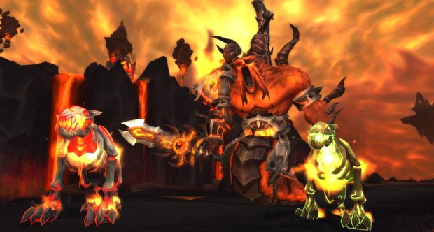 World of Warcraft: Cataclysm 4.2 screenshots