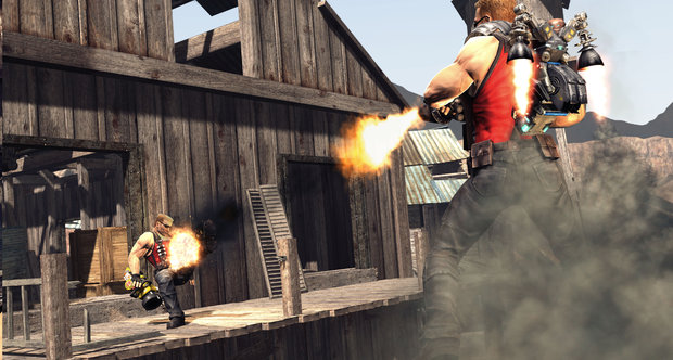 Duke Nukem Forever multiplayer screenshots