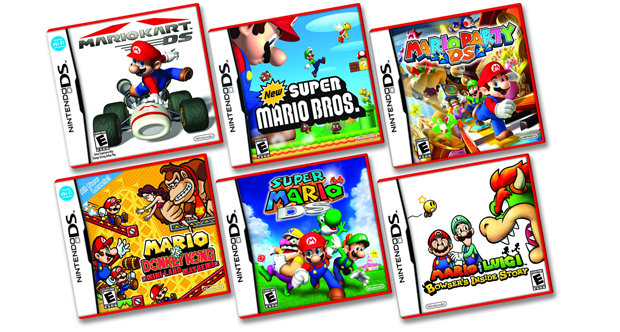 Nintendo DS 'Red Mario' games