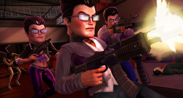 E3 2011 Saints Row: The Third screenshots