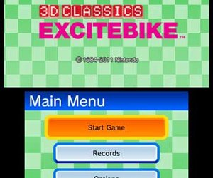 3D Classics Excitebike Screenshots