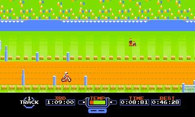 3D Classics Excitebike Screenshots