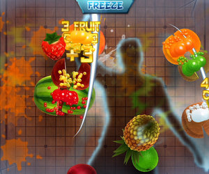 Fruit Ninja Kinect Screenshots