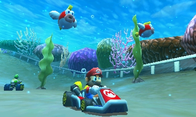 Mario Kart 7 Chat