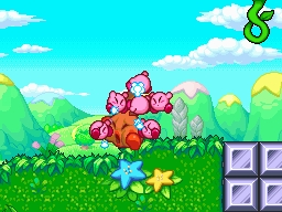 Kirby Mass Attack Screenshots