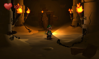 Luigi's Mansion: Dark Moon Screenshots