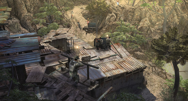 E3 2011 Jagged Alliance: Back in Action screenshots