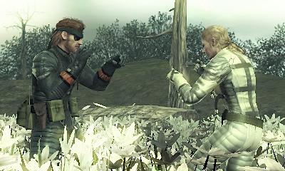 Metal Gear Solid Snake Eater 3D Screenshots