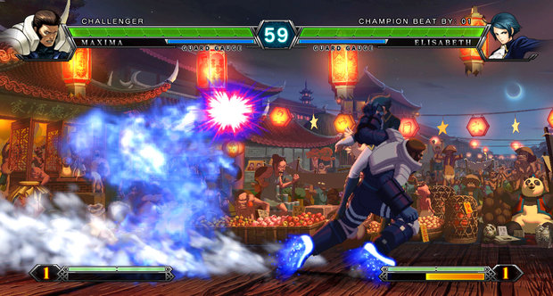 E3 2011 The King of Fighters XIII screenshots
