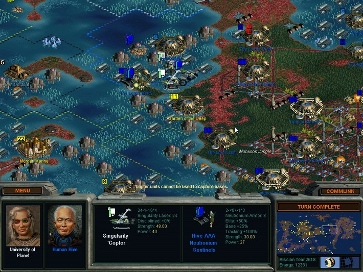 Sid Meier's Alpha Centauri Screenshots - Video Game News ...