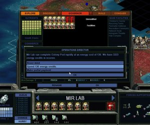 Sid Meier's Alpha Centauri Screenshots