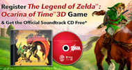 Free Zelda: Ocarina of Time soundtrack offer now online