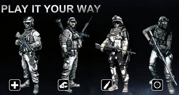 Battlefield 3 classes topstory