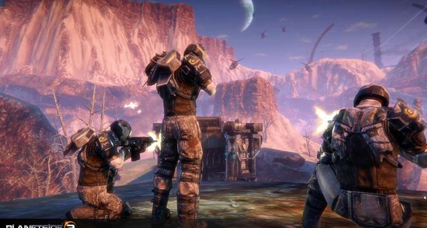 Planetside 2 'Announcement' Screens
