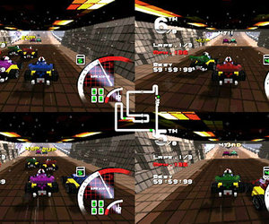 3D Pixel Racing Screenshots