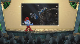 Smurfs Dance Party Screenshot from Shacknews