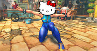Hello Kitty crosses with Street Fighter