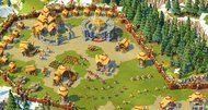 Age of Empires Online civilizations and booster screens