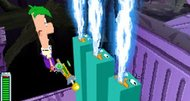 DS Phineas and Ferb: Across the Second Dimension screenshots