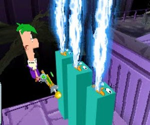 Phineas and Ferb: Across the Second Dimension Screenshots