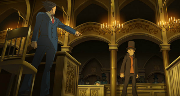 Professor Layton vs Ace Attorney topstory