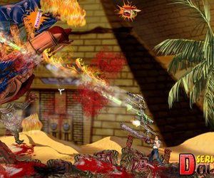Serious Sam Double D Screenshots