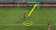 Pro Evolution Soccer 2012 screens