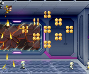 Machine Gun Jetpack Screenshots