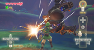 The Legend of Zelda: Skyward Sword screens