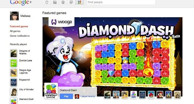 Google Plus games
