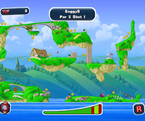 Worms Crazy Golf Screenshots