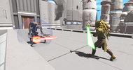 Kinect Star Wars Gamescom 2011 screens