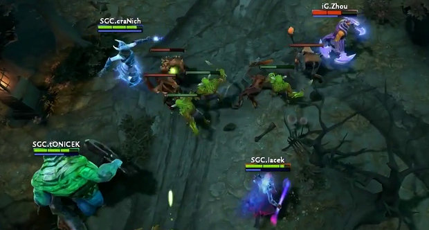 dota 2 how to turn on console