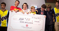 Dota 2 tournament $1 million finals won by Na'vi