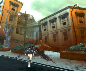 Black Rock Shooter: The Game Screenshots
