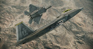 Ace Combat: Assault Horizon F-22A screenshots