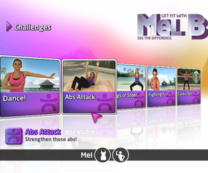 Get Fit With Mel B Videos