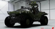 Halo 4's Warthog appearing in Forza 4