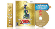 Legend of Zelda: Skyward Sword gold controller bundle announced